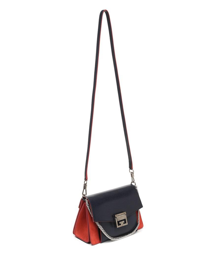4ec856bac4 Lyst - Givenchy Bags Fw18 Blue And Red Small