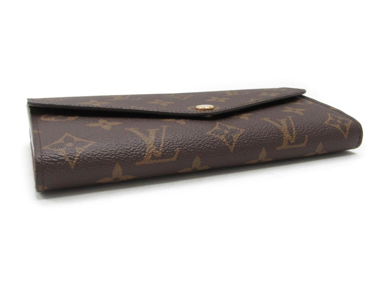 96ccec87efc8 Lyst - Louis Vuitton Portefeiulle Sarah Zip Long Wallet Monogram ...
