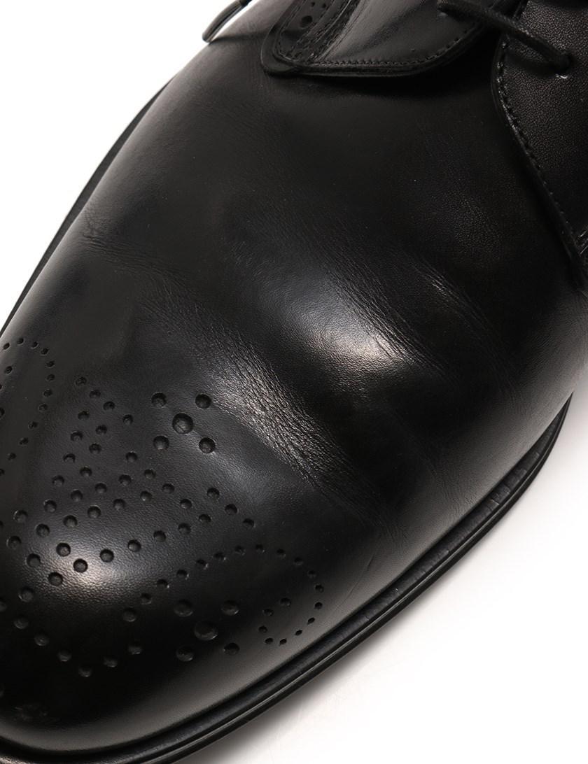 e4d9df3254f7 Lyst - Louis Vuitton Derby Dress Shoes Medallion Lace-up Leather ...