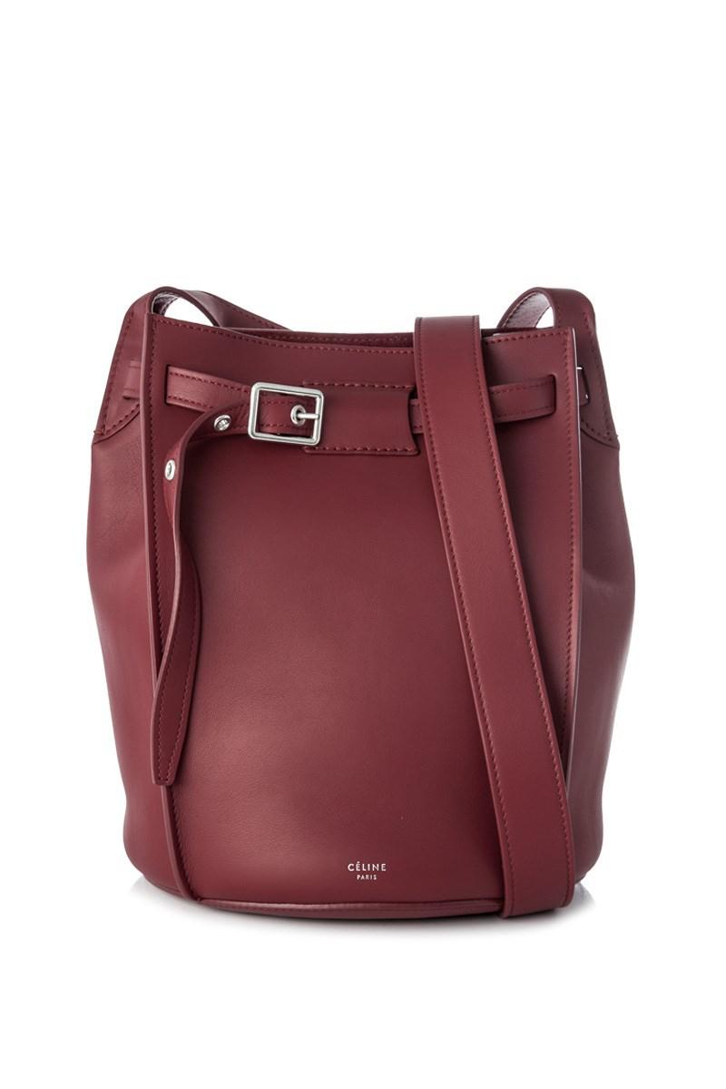 Lyst - Céline Big Bag Bucket in Red 42faaa4d89d1d