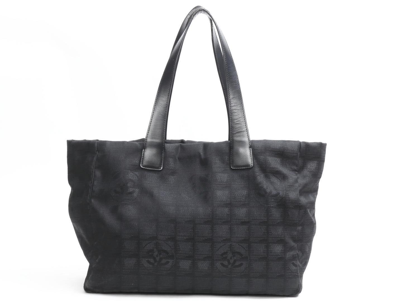 33d715bb631d Chanel New Travel Line Tote Bag Nylon Black in Black - Lyst