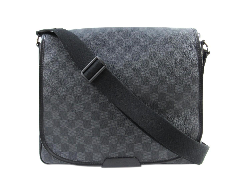 fcd5e3447413 Lyst - Louis Vuitton Daniel Mm Shoulder Hand Bag Damier Graphite ...