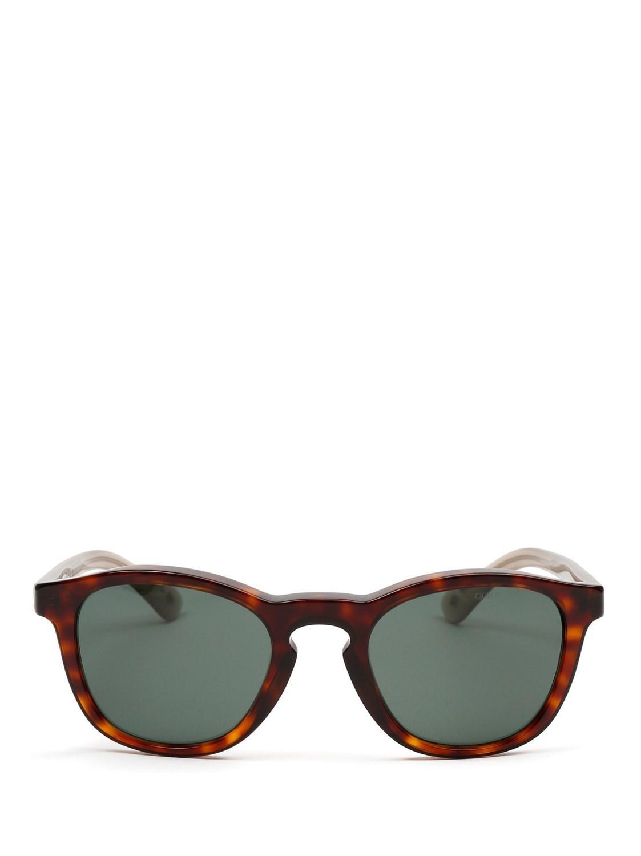 a05f5f3b2b8 Lyst - Giorgio Armani Men s Ar8112568671 Brown Acetate Sunglasses in ...
