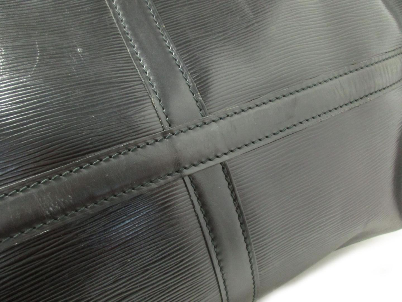 bdbcc3c59ea6 Lyst - Louis Vuitton Keepall 50 Boston Hand Bag Black Epi M42962 in ...