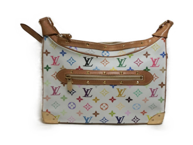 9d2d6997e488 Lyst - Louis Vuitton Auth Boulogne Shoulder Bag M92660 Multicolor ...
