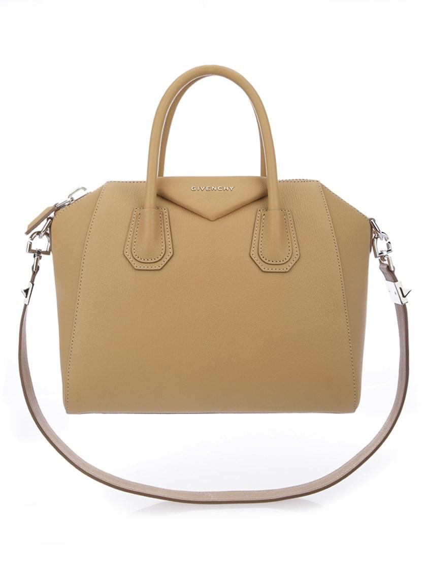 91795d4612 Lyst - Givenchy Bags Ss18 Beige Leather