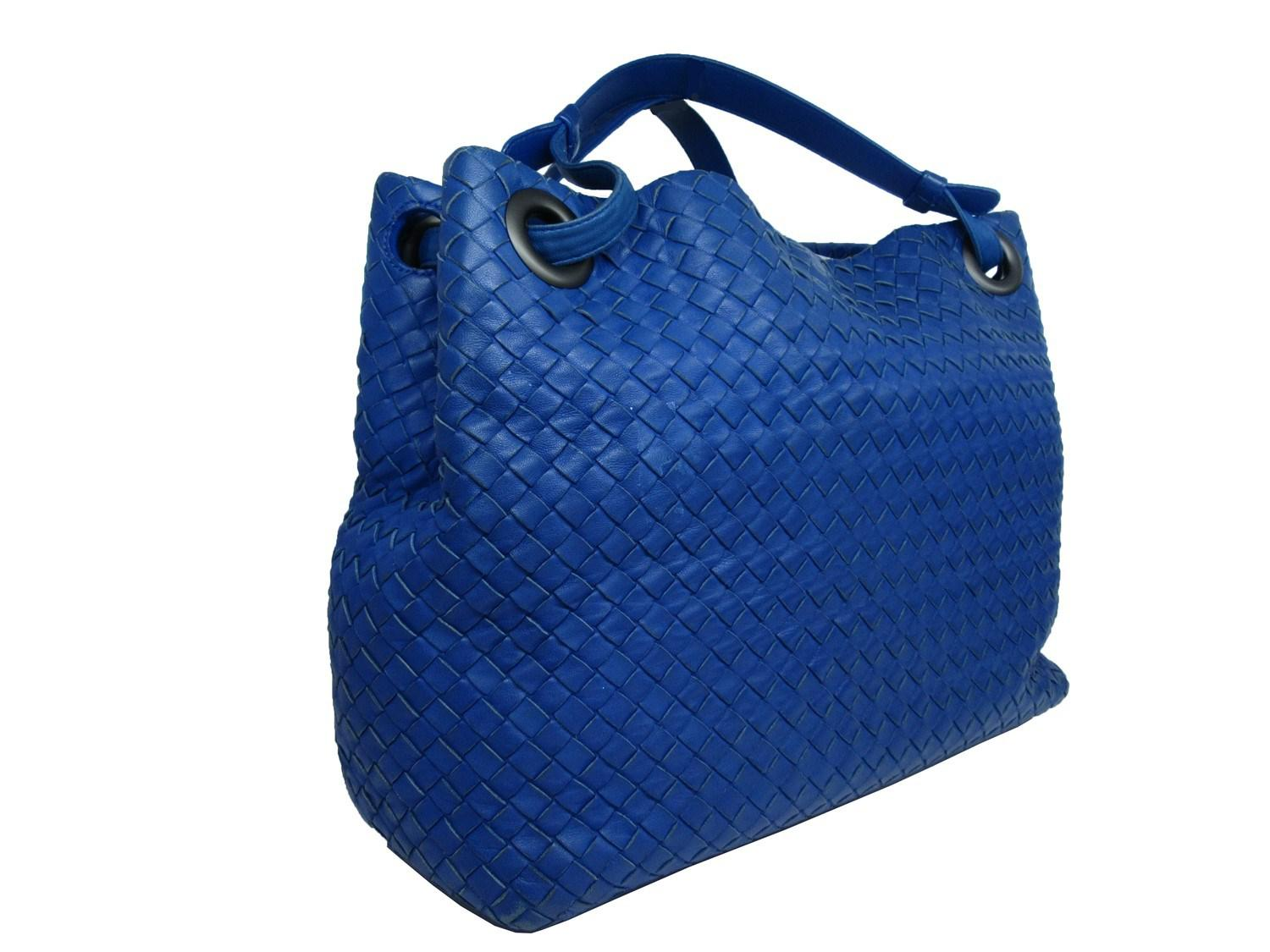 Lyst - Bottega Veneta Auth Bv Intrecciato Shoulder Tote Bag Lamb ... c70e4b7cda967