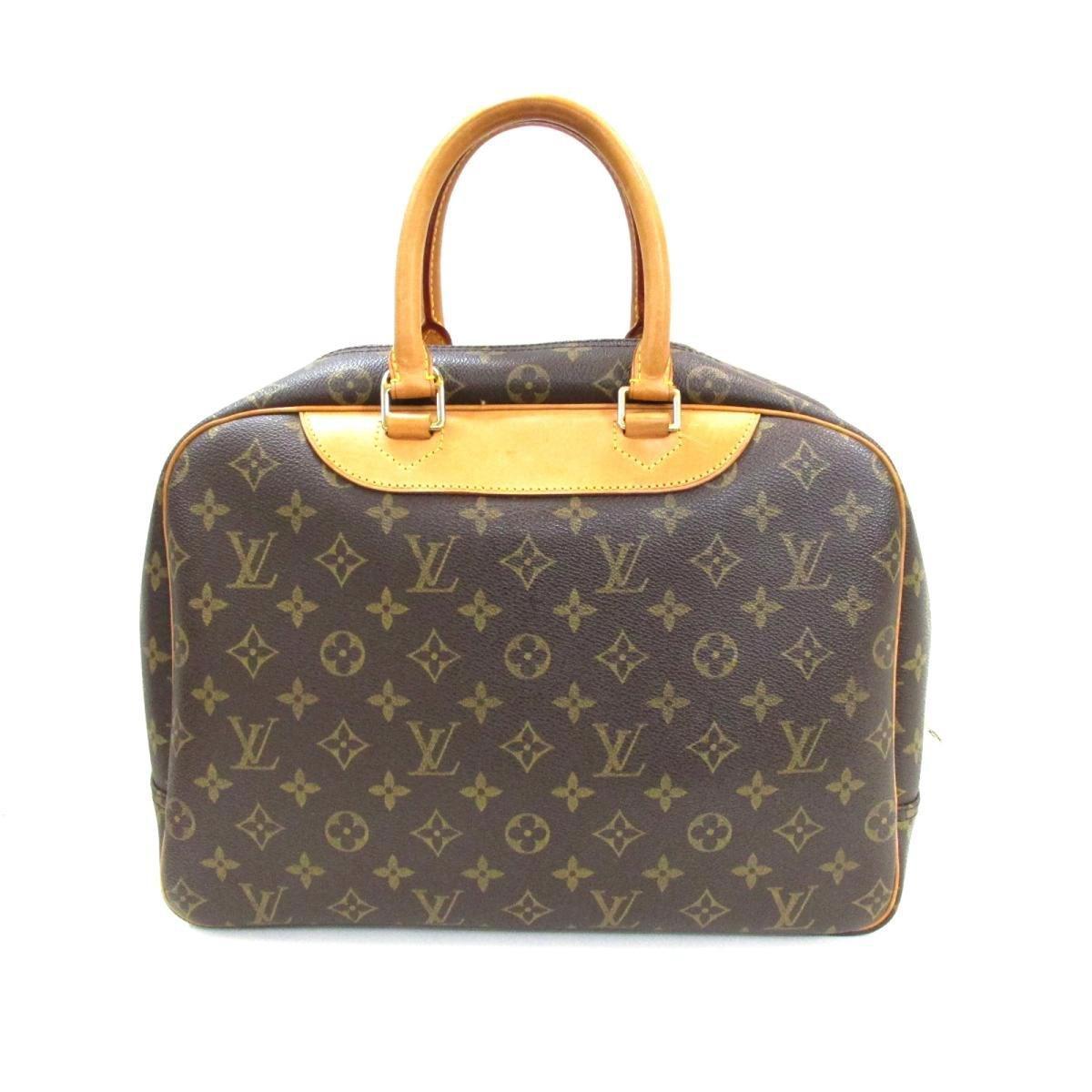 73aa046704bd Lyst - Louis Vuitton Authentic Deauville Handbag M47270 Monogram ...