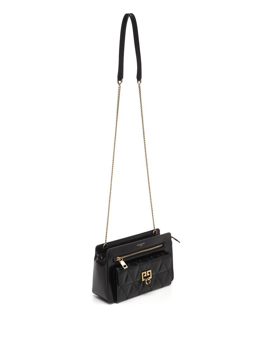 968b8665fc Givenchy - Crossbody Bags Fw18 Pocket Crossbody Bag In Black Leather -  Lyst. View fullscreen