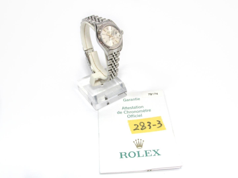 Women's Metallic Datejust Watch 79174 Automatic Silver K18wg (750) White  Gold