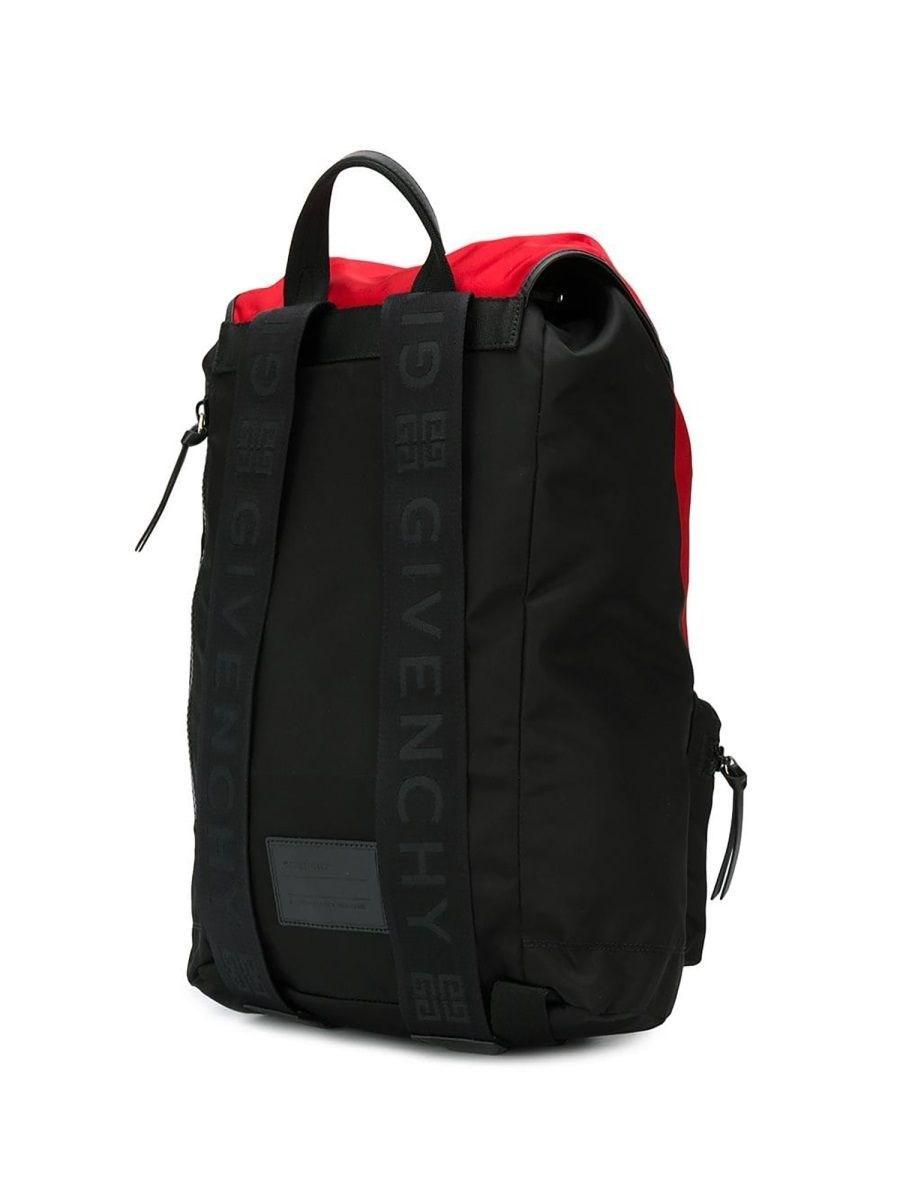 3e384d655e8 Lyst - Givenchy Men's Bk500mk0jh009 Red Acetate Backpack in Red for Men