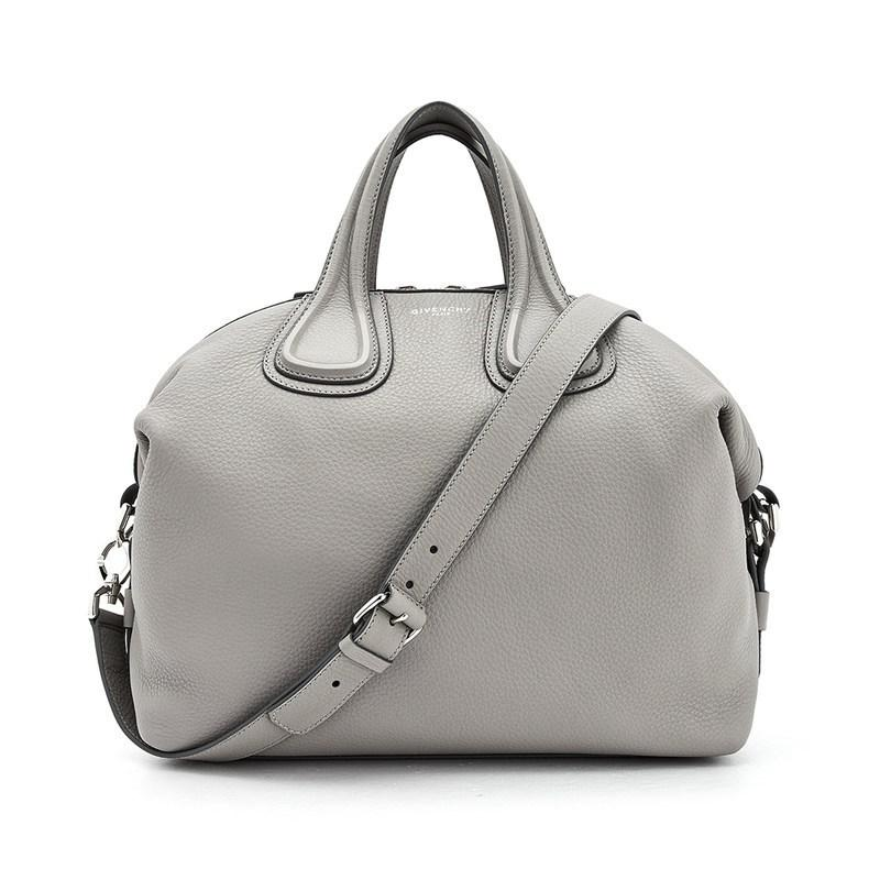... Givenchy. Womens Gray Medium Nightingale competitive price 17788 2ddad   Pre-owned Givenchy Nightingale Mico Leather Satchel Bag ... 1206e3746fd17