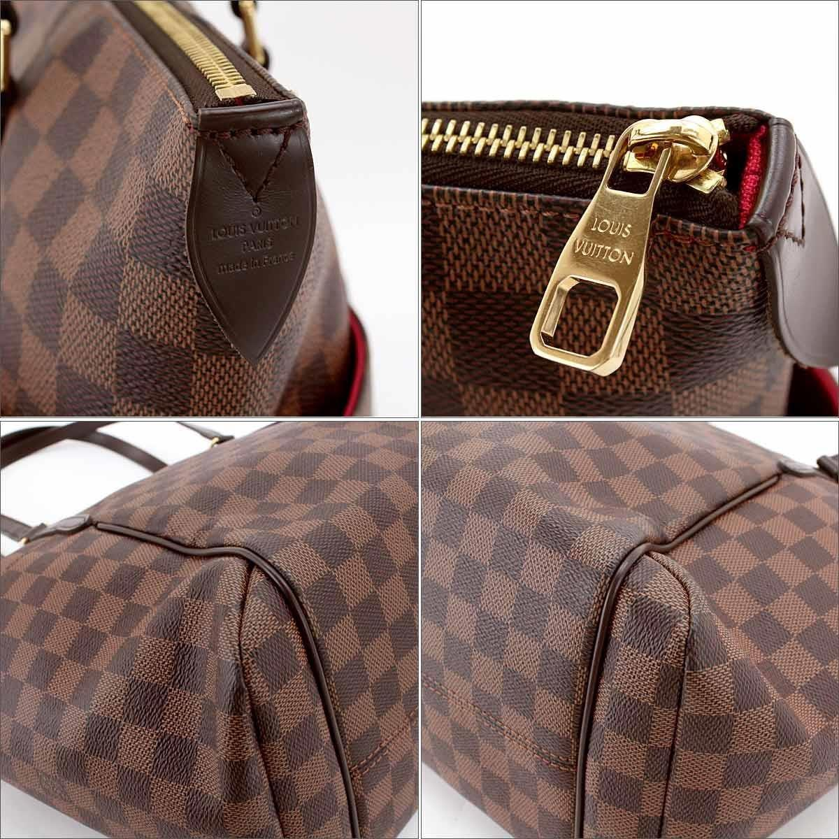 b9c76986e20 Lyst - Louis Vuitton Damier Totally Mm Tote Bag Canvas Ebene N41281 ...