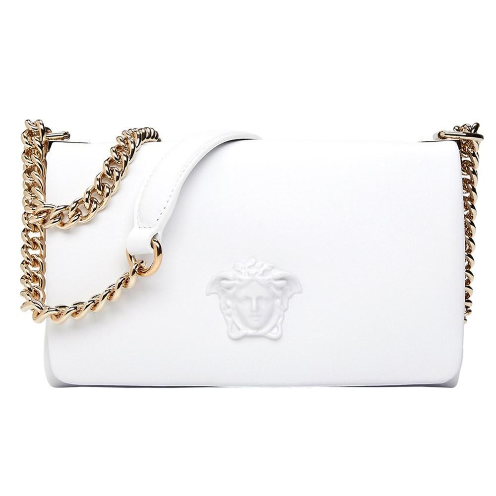 5eb35c9824c Lyst - Versace Palazzo Cross-body Bag White in White