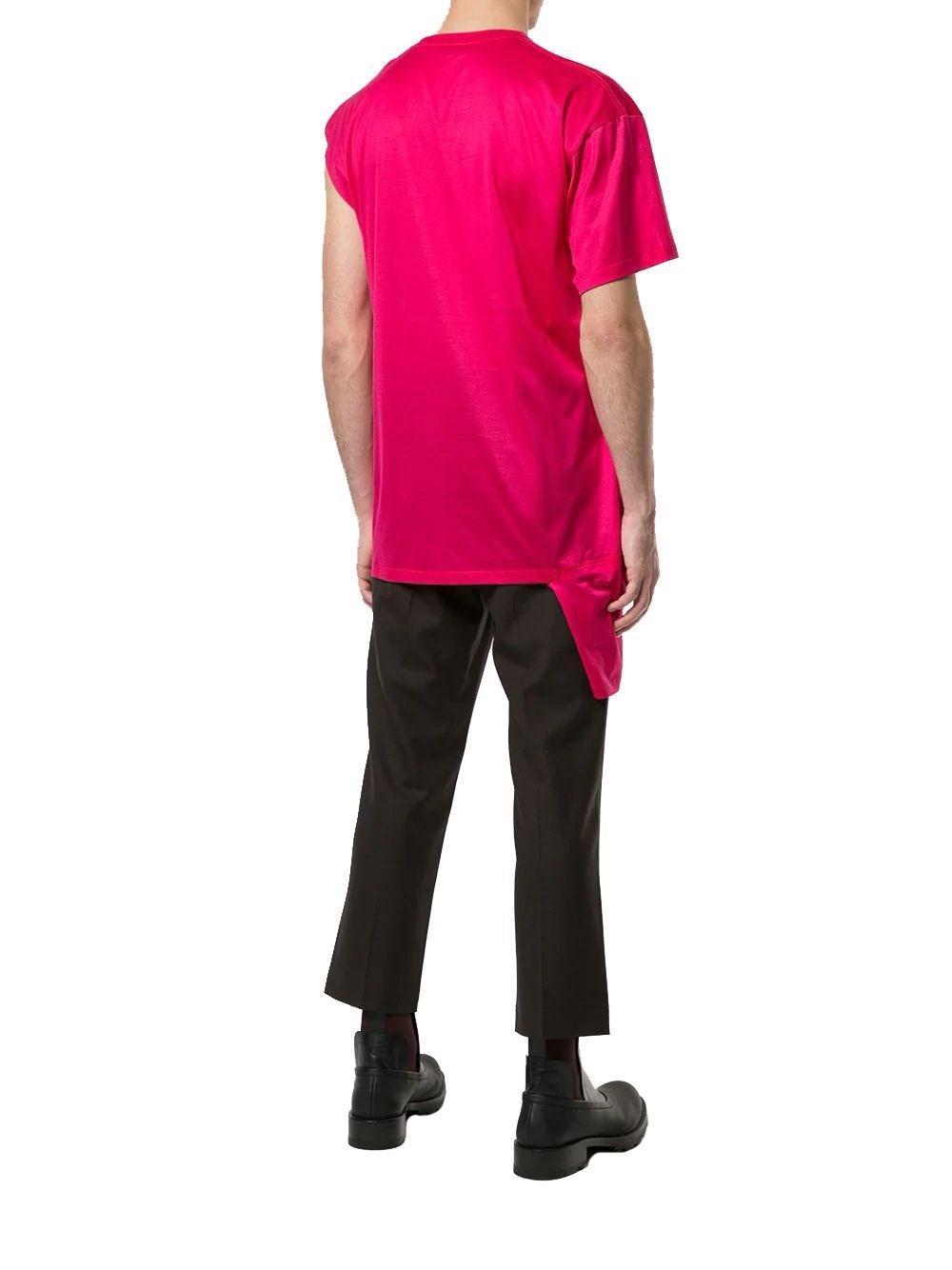 Alexander wang Splatter Print T-shirt Dress in Black