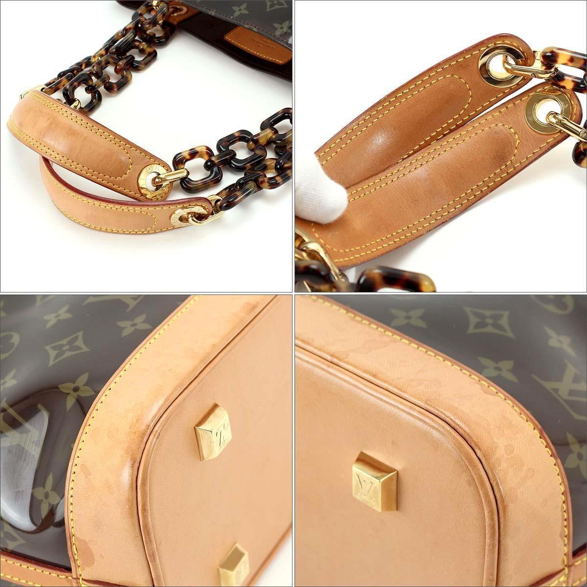 b6046b55f2bd Lyst - Louis Vuitton Monogram Cabas Ambre Mm Tote Bag Vinyl Brown ...