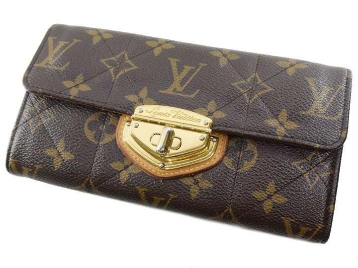 new concept 33c57 2a288 Lyst - Louis Vuitton Quilting M66556 Monogram Canvas Brown ...