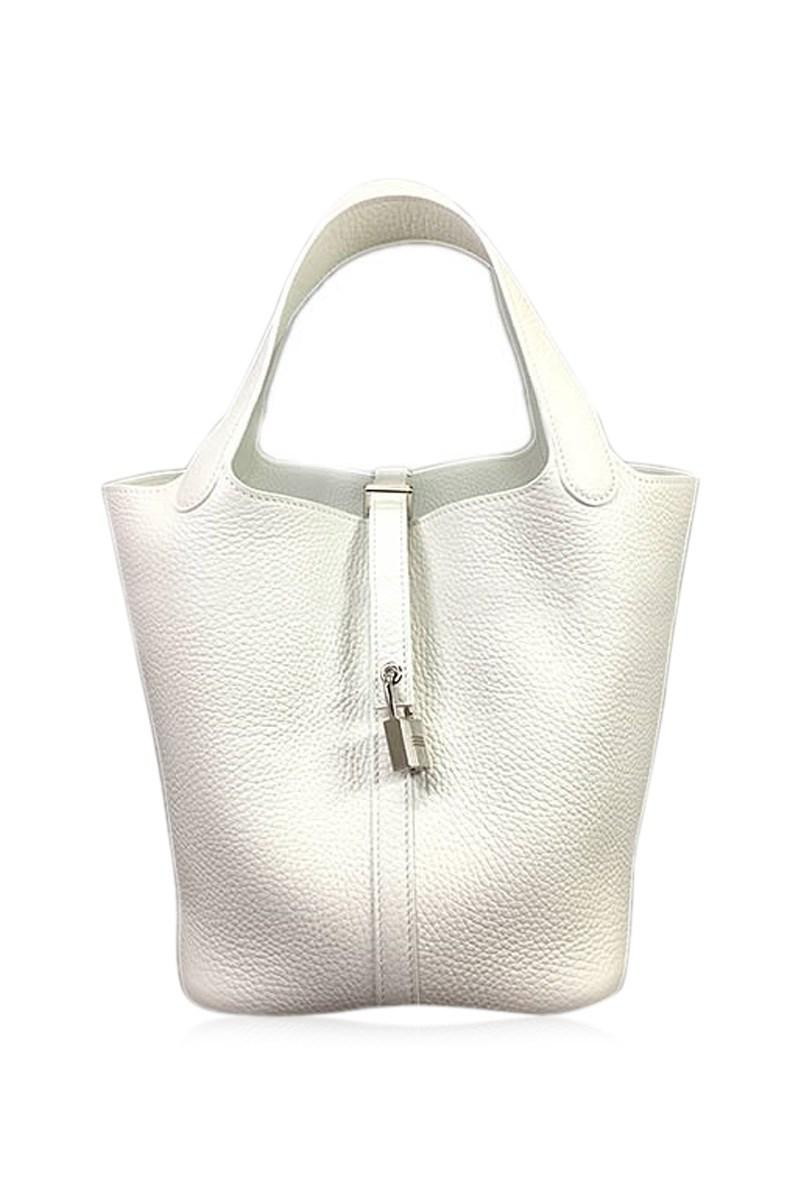 3649540a5724 ... sweden lyst hermès handbags picotin lock 22 mm whiteblanc taurillon  8f573 3067e ...