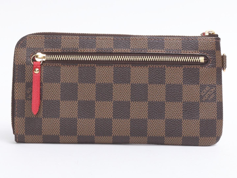 91a97629dd1c Lyst - Louis Vuitton Portefeuille Comprise T b Wallet Damier N61740 ...