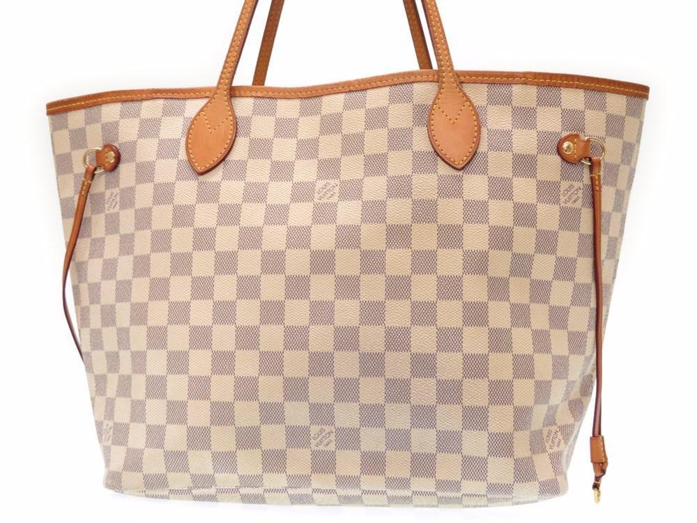 e920985b8c93 Lyst - Louis Vuitton N 51107 Azur Neverfull Mmtote Bag Azur ...