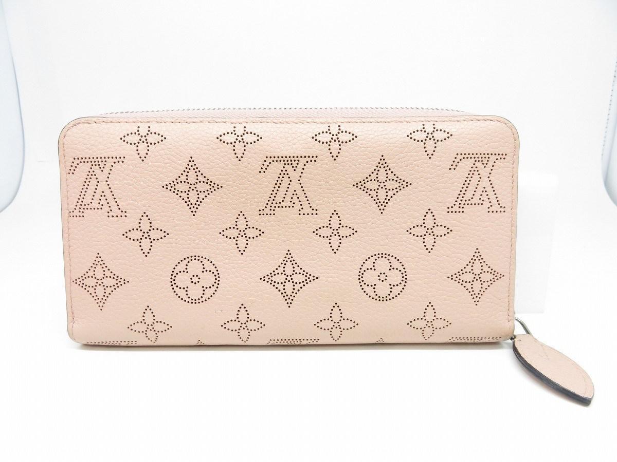 sale retailer 39f42 709ed Women's Mahina Zipper Long Wallet Purse Pink M61868 3180