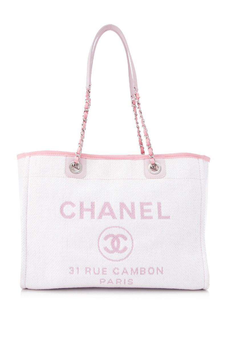 70785f4063c2 Chanel Pre-owned 31 Rue Cambon Tote Bag in Pink - Lyst
