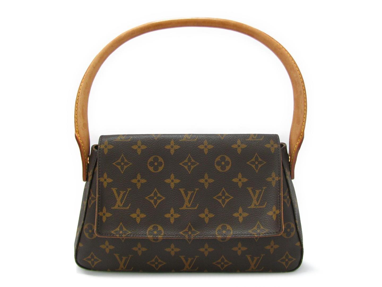 fe8e03b315eeb Lyst - Louis Vuitton Mini Looping Shoulder Hand Bag Monogram Canvas ...