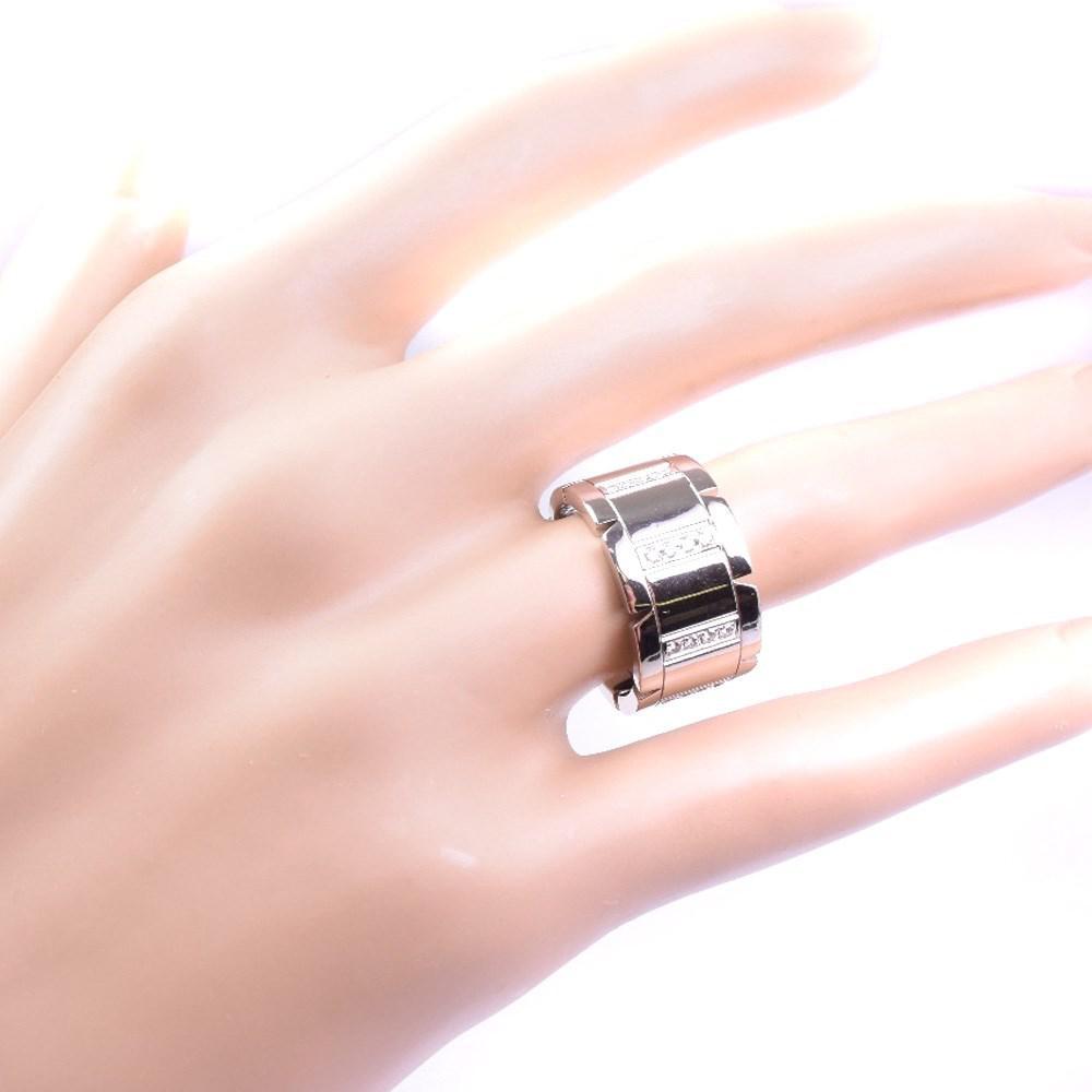 Lyst - Cartier 18k White Gold Ring #12(jp Size) Women in Metallic