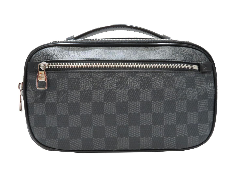 29c17e6a026e Lyst - Louis Vuitton Ambler Waist Bag Body Bag N41289 Damier ...