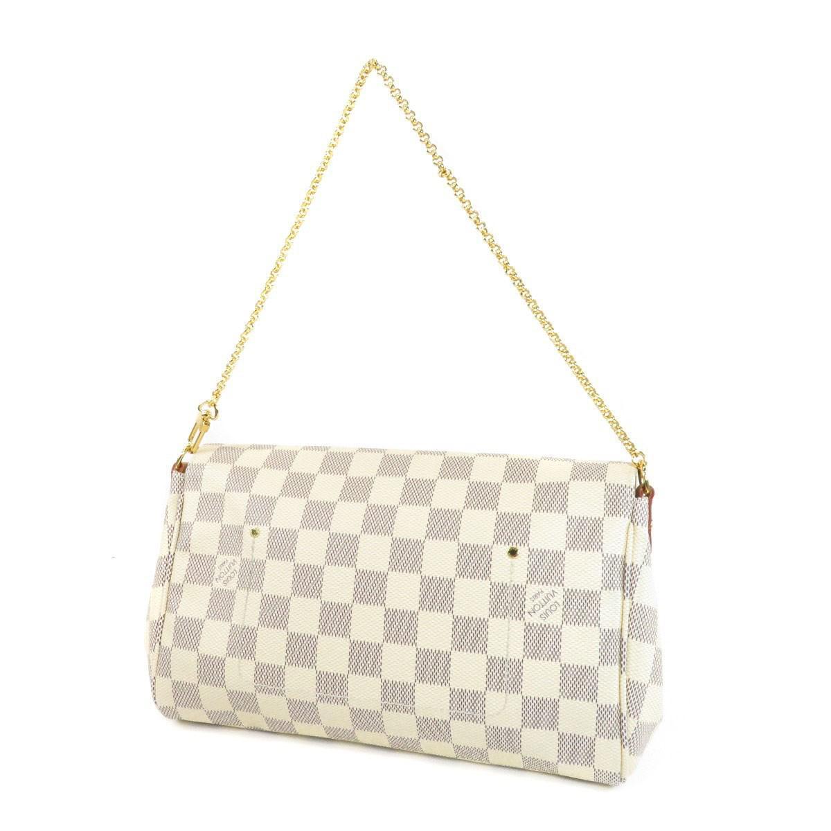 Lyst - Louis Vuitton Damier Canvas Shoulder Bag N41275 Favorite Mm ... bbb020be10061