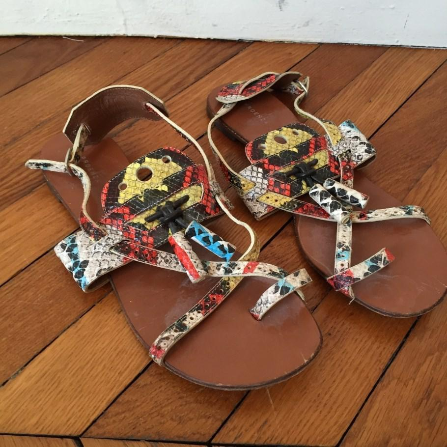 Clearance Official Proenza Schouler Exotic Leathers Sandals Finishline Online Shop Your Own Clearance Nicekicks DUpJZuM5