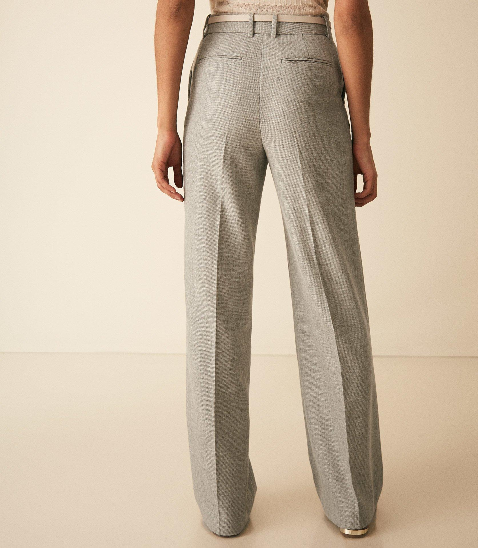 Reiss Trae Wide-Leg Wool Trouser