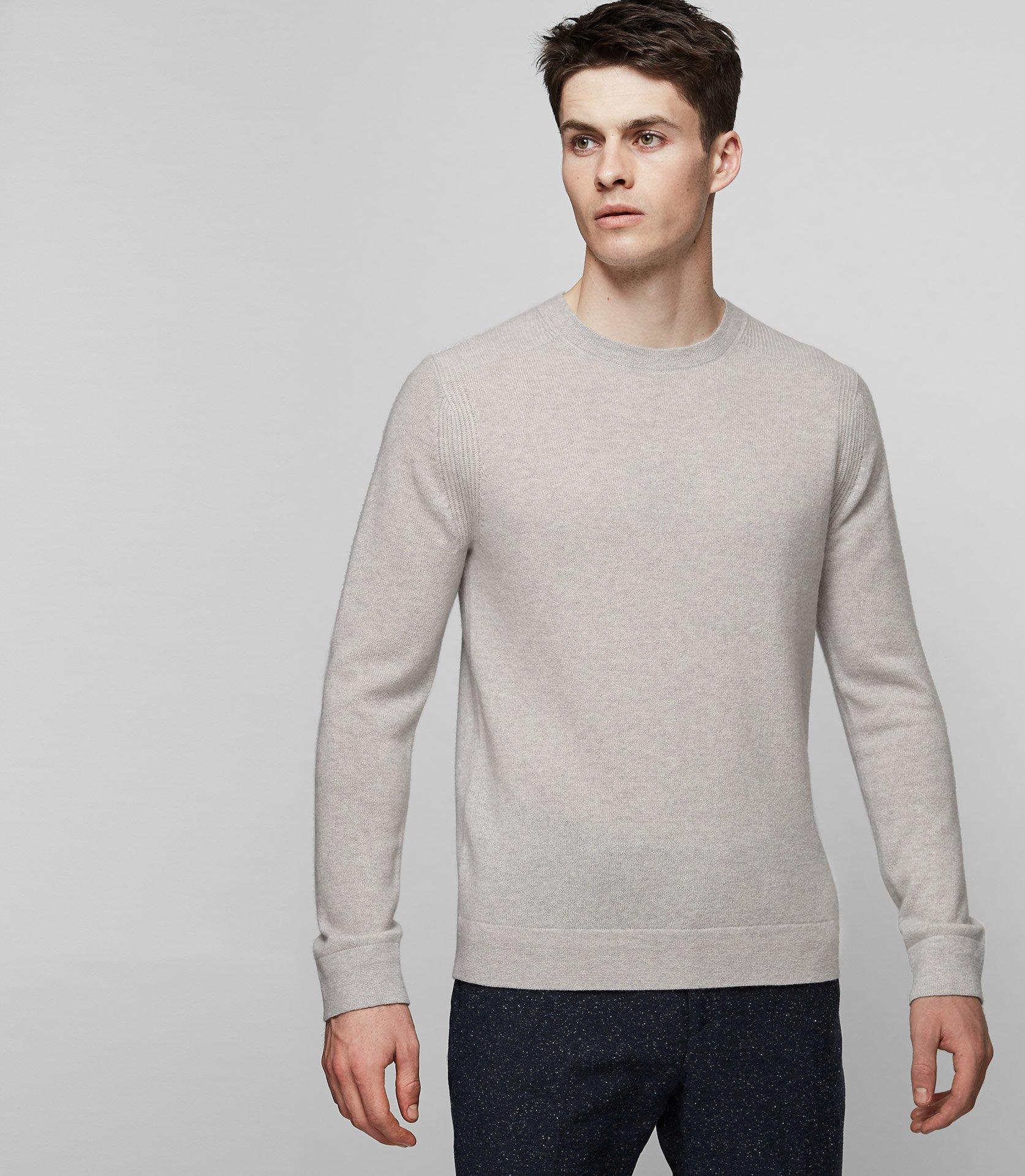 0723ea0f736 Reiss Hart Merino Wool Jumper in Gray for Men - Save 74% - Lyst