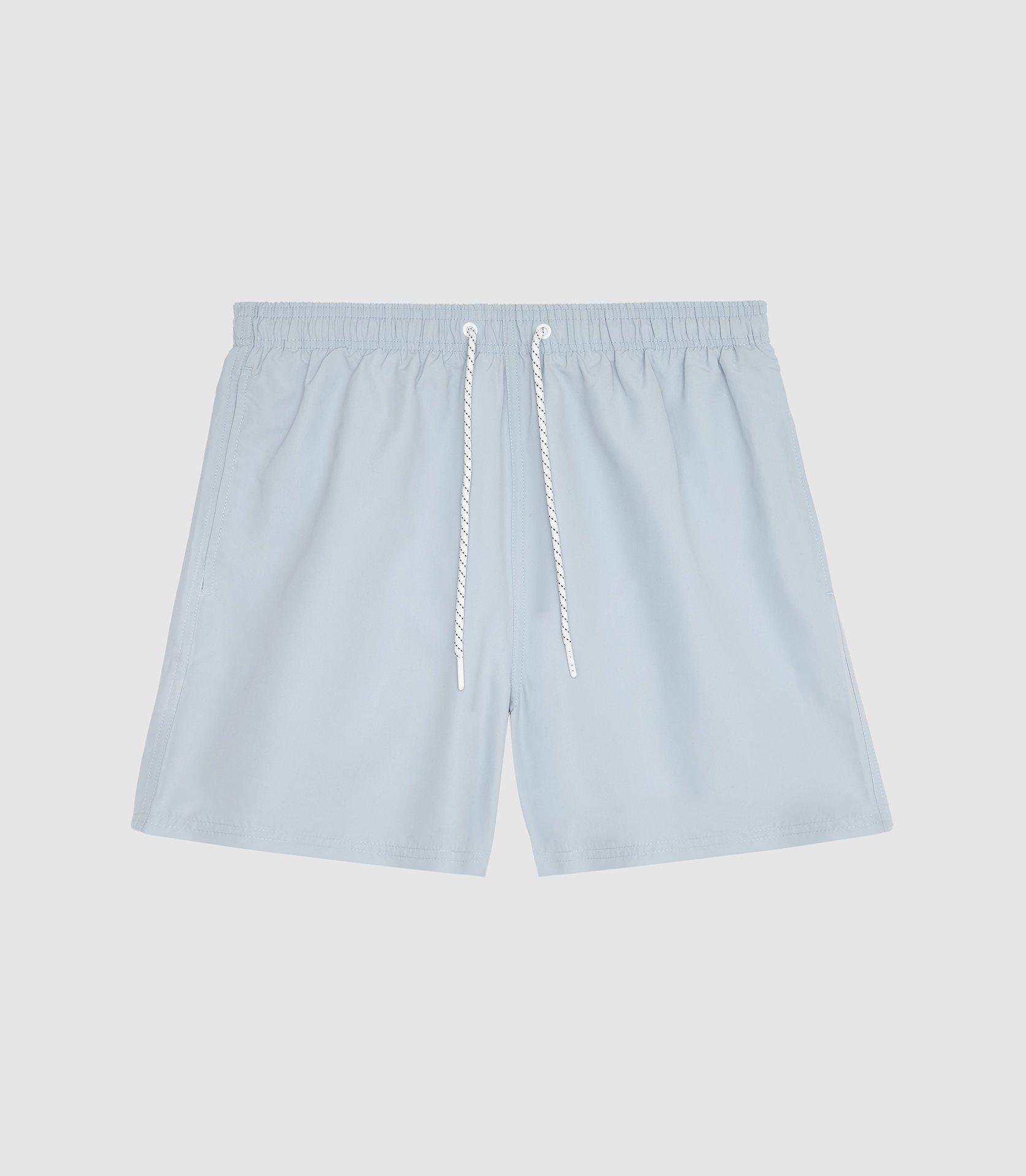 Reiss Synthetic Sonar - Drawstring Swim Shorts in Soft Blue (Blue) for Men