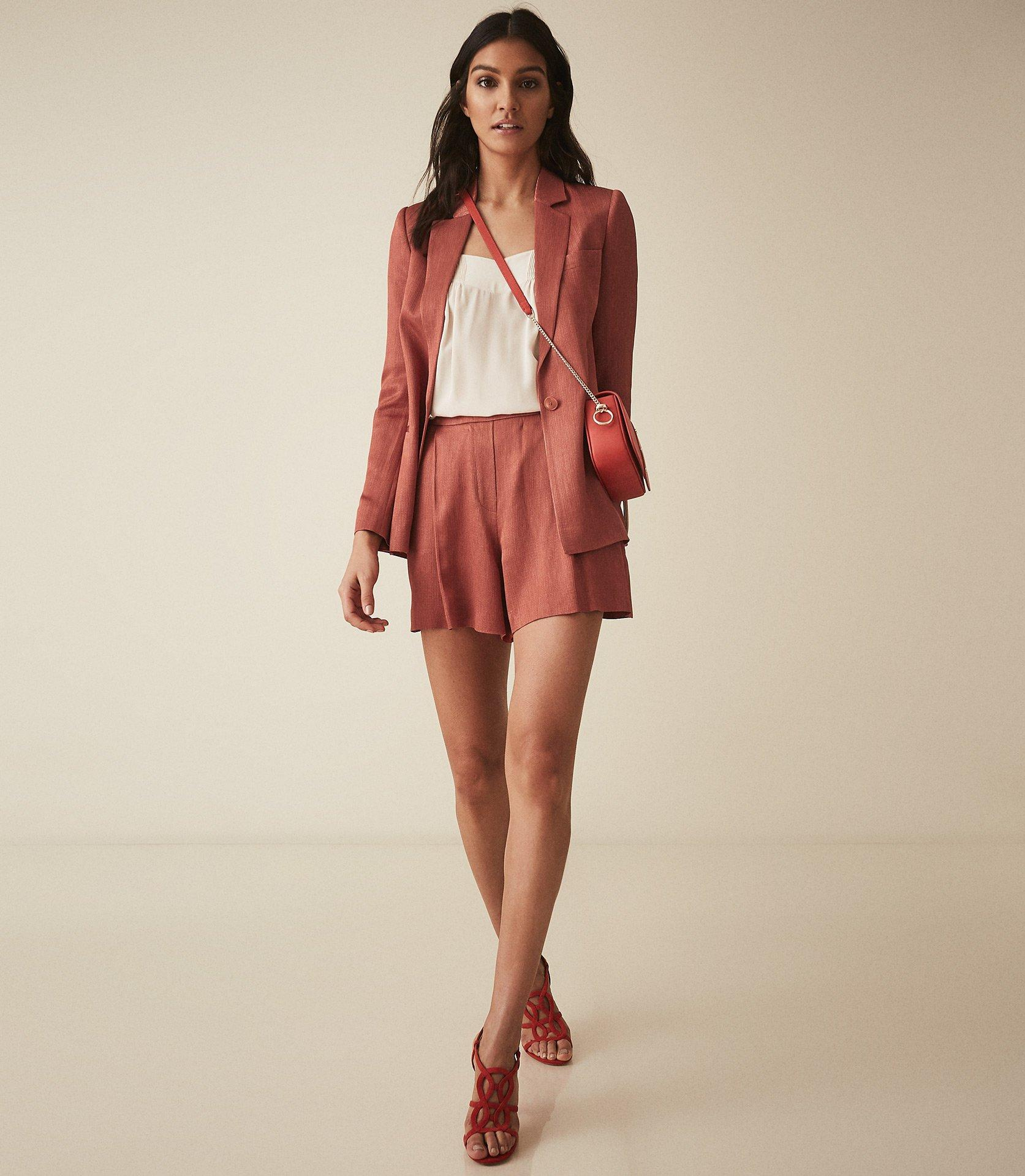 57f0b425a778b Reiss - Ayla Jacket - Textured Blazer - Lyst. View fullscreen