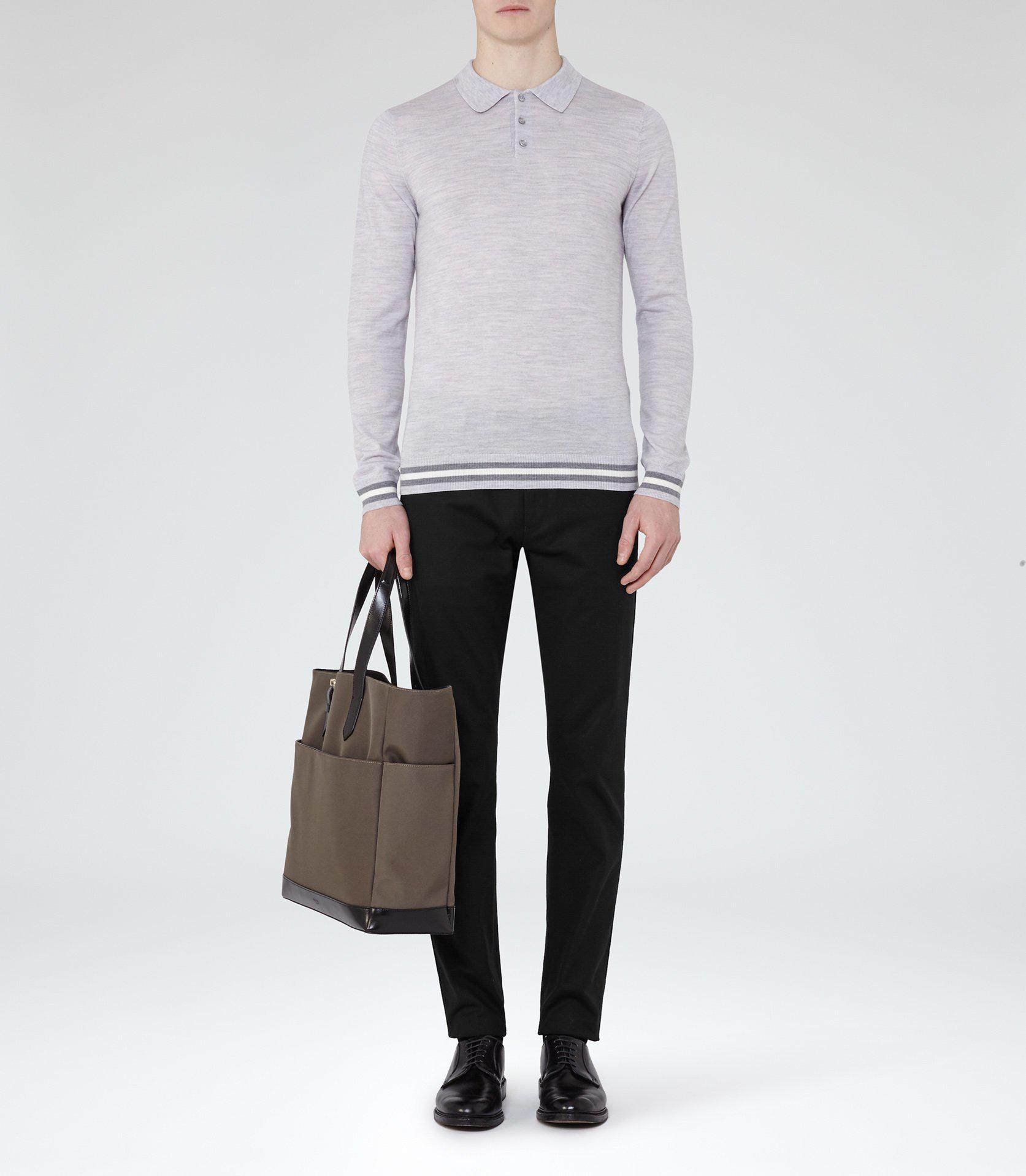 Reiss Wool Antonio in Soft Grey (Grey) for Men