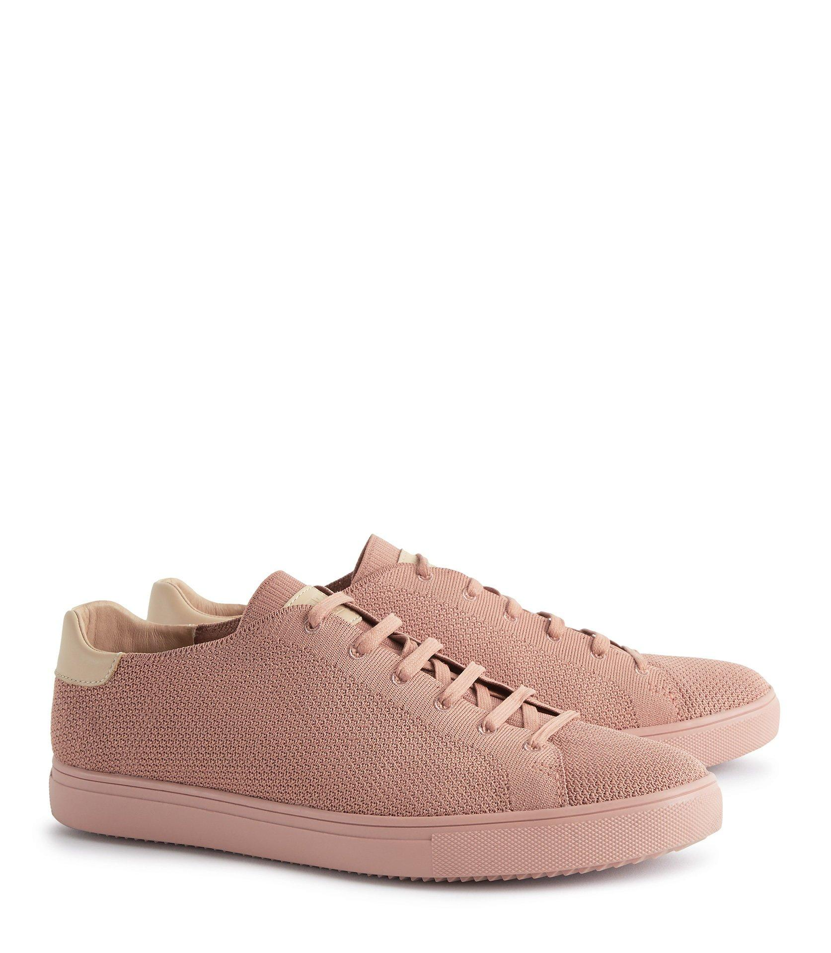Reiss Leather Bradley Knit - Clae Knitted Sneakers for Men
