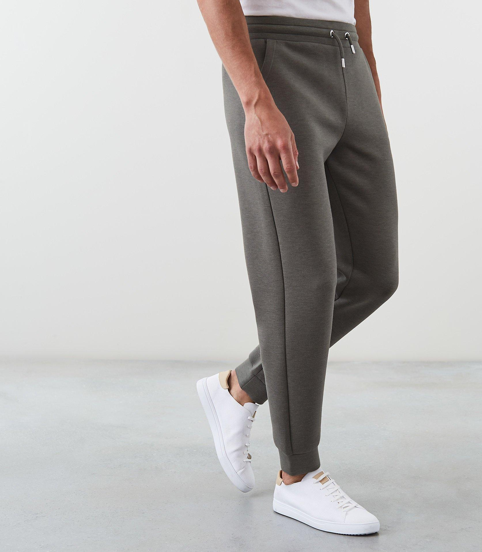 Reiss Synthetic Claude - Jersey Joggers in Sage (Grey) for Men