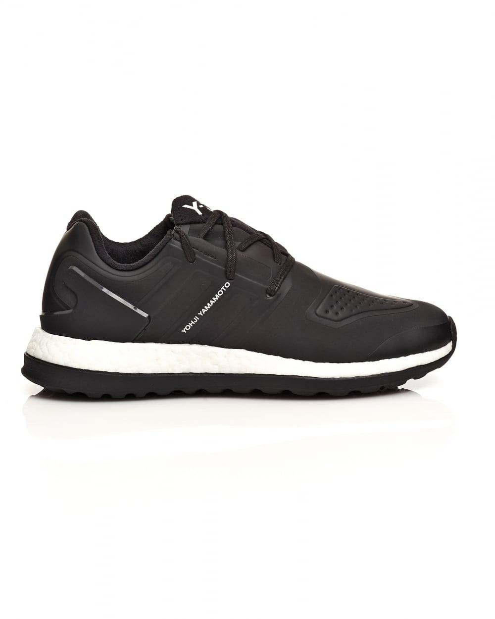 ce52fd6d877 Y-3 Pure Boost Zg Core Black Neoprene Trainers in Black for Men - Lyst