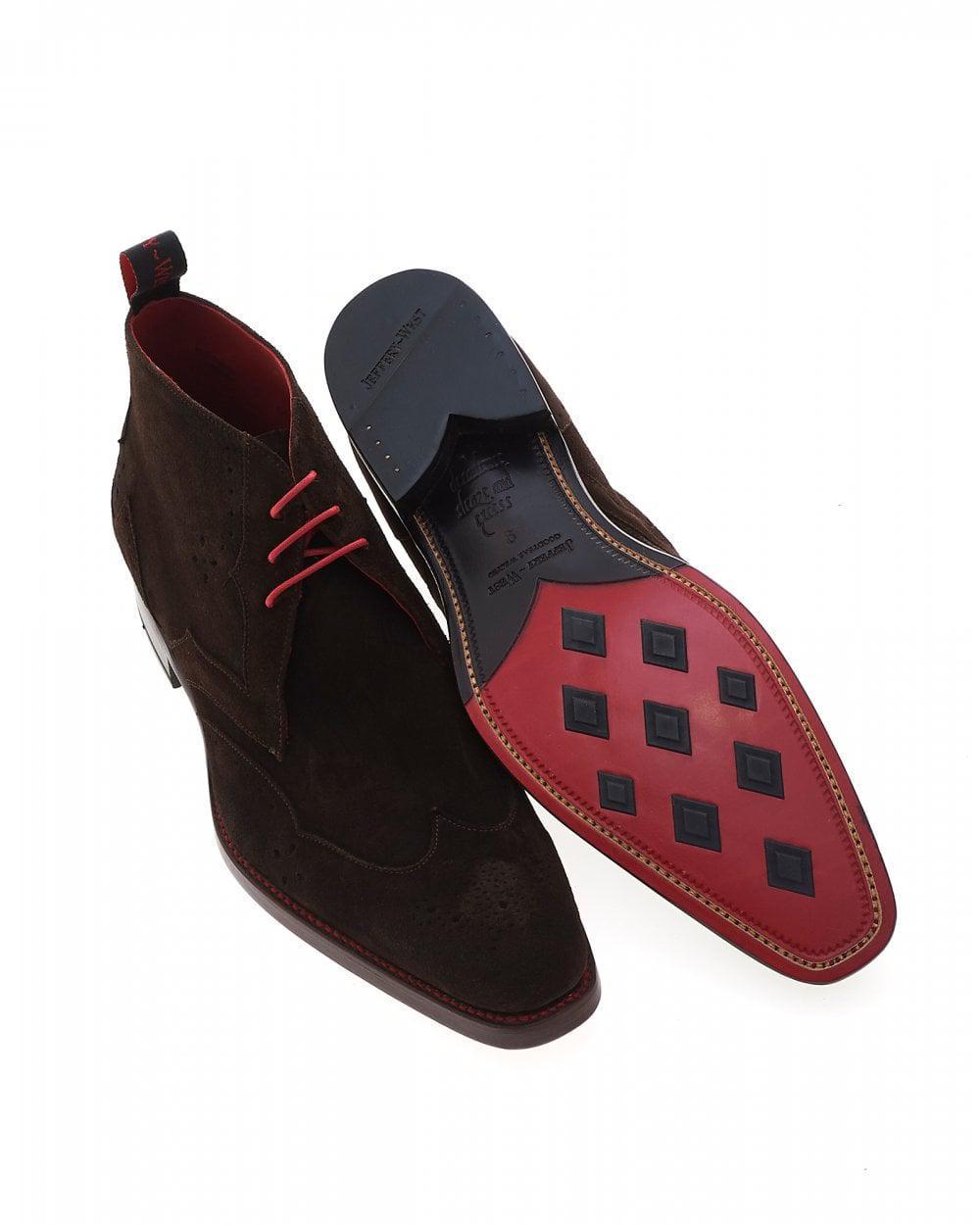 878938409a2e74 Jeffery West Cutthroat Wing Tip Brown Dexter Chukka Boot in Brown for Men -  Lyst