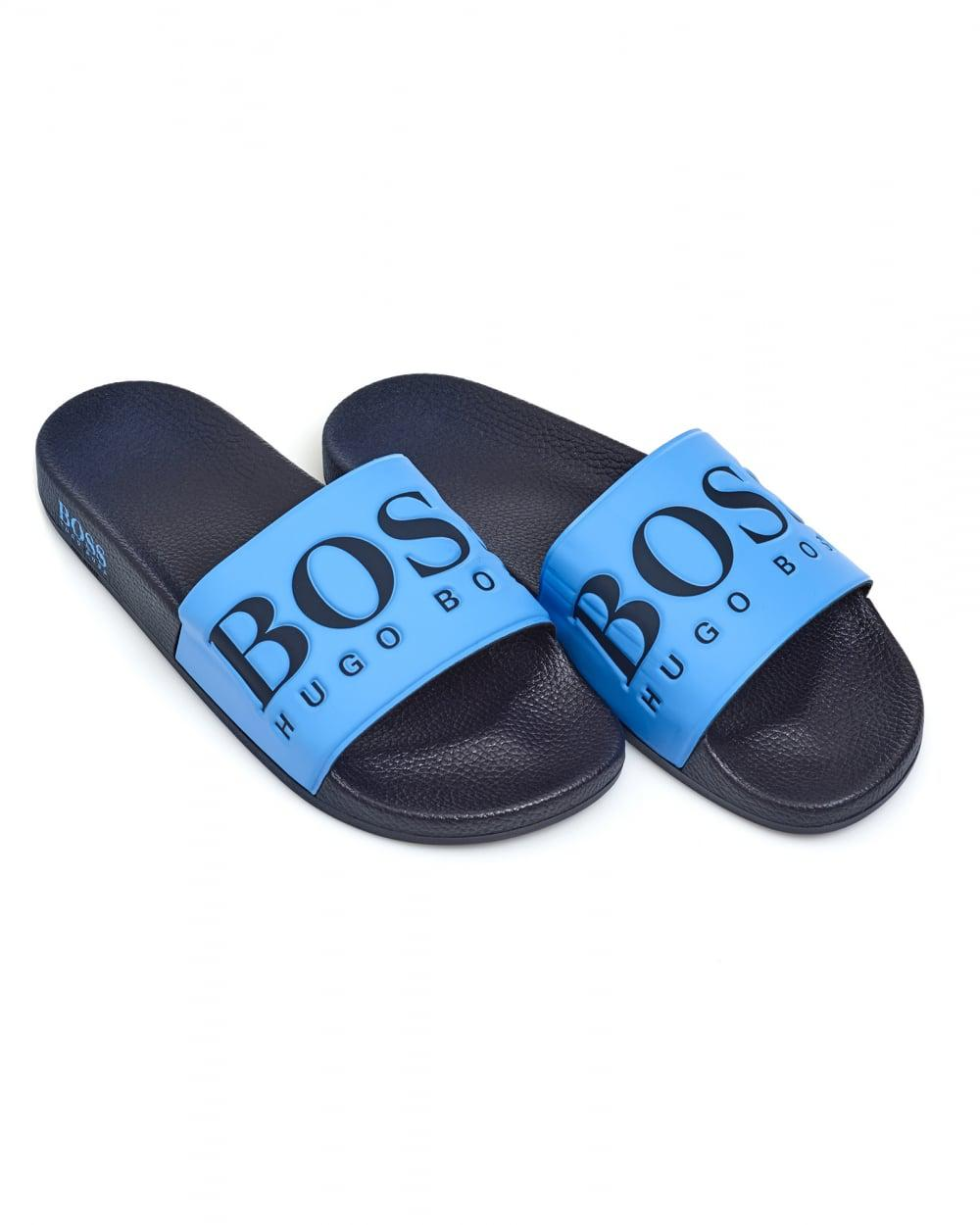 9134378f66e Lyst - BOSS Athleisure Solar Slide Sandals