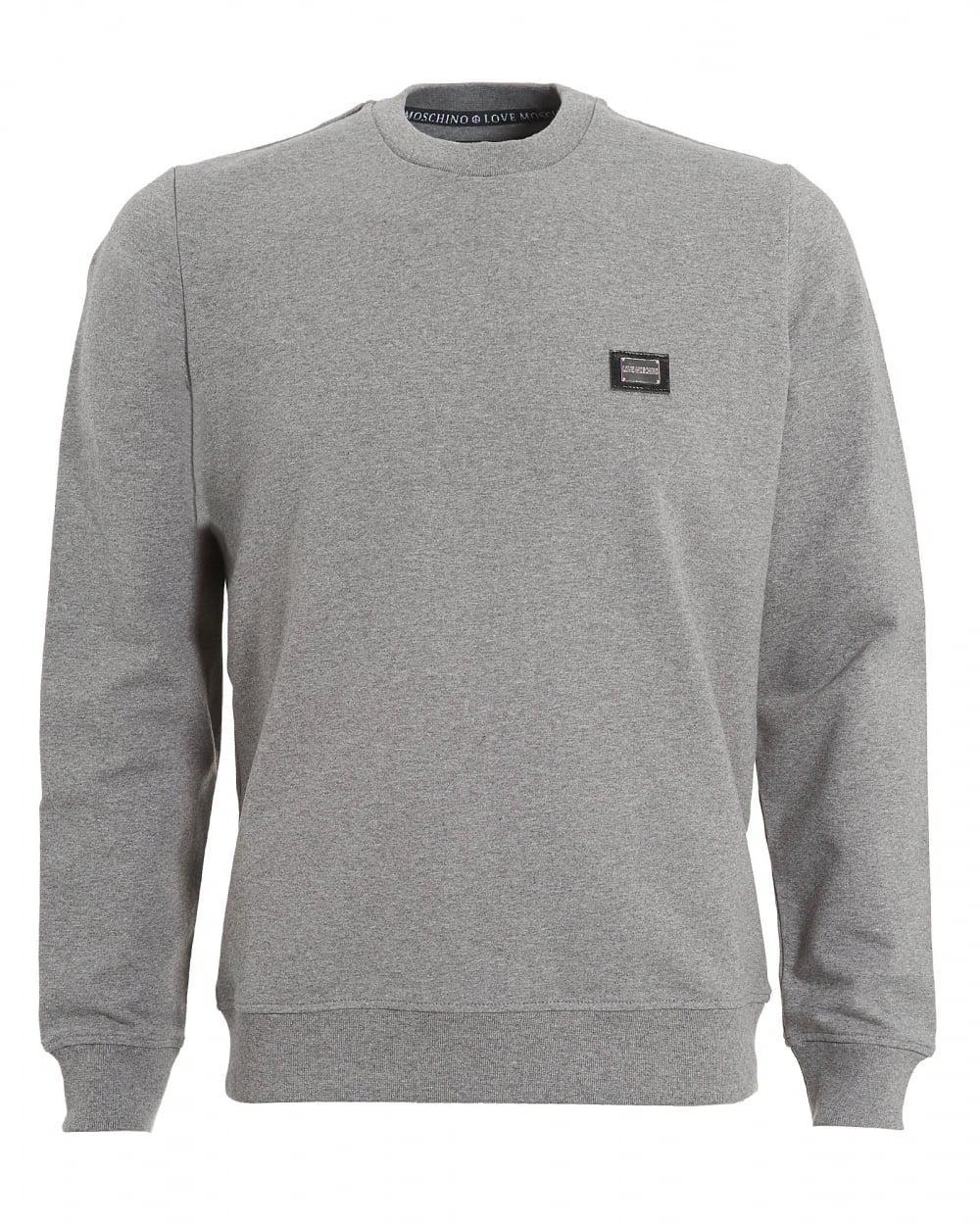 Moschino Metallic logo sweatshirt 25VI4