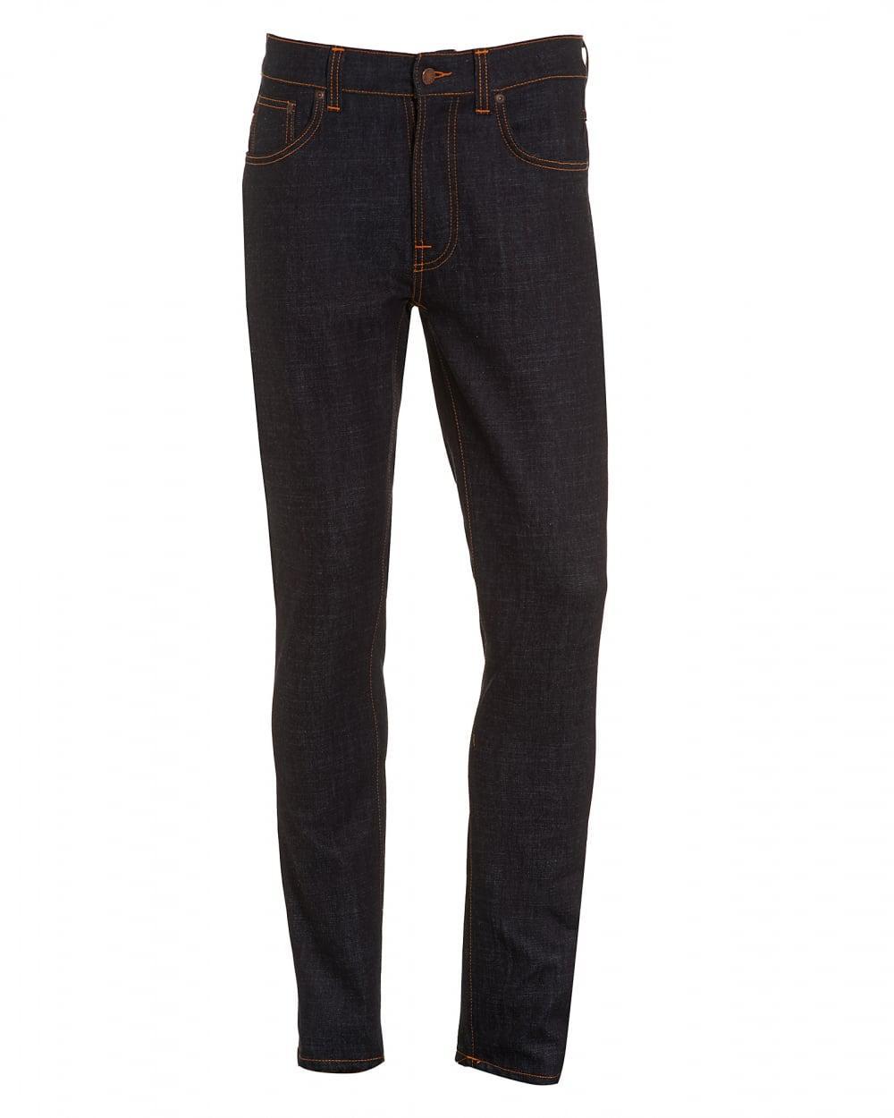 Maigre Maigre-jeans D'ajustement Extensible En Denim Organiques Dean Jean Nudie LG9yefuyK3