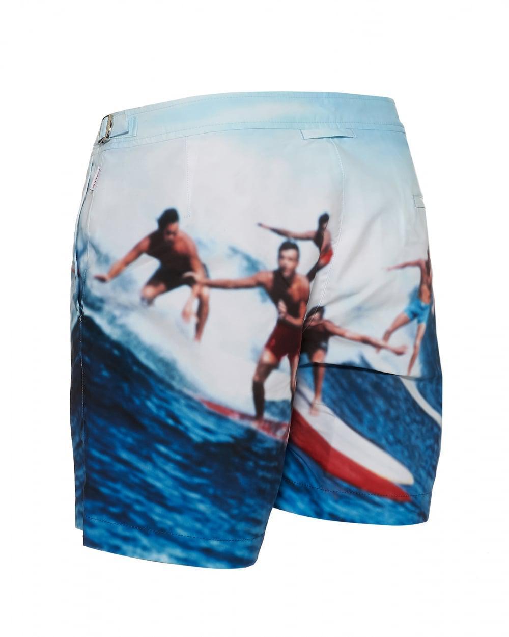 Clearance Choice Bulldog Swell Guys Swim Shorts - Blue Orlebar Brown Pre Order Online sA3srCPWGr