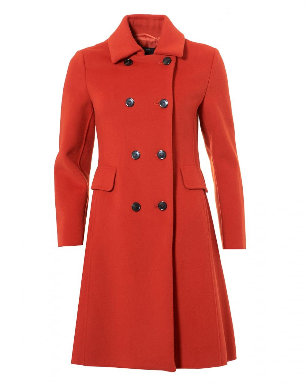 Lyst Weekend By Maxmara Acino Fitted Princess Coat