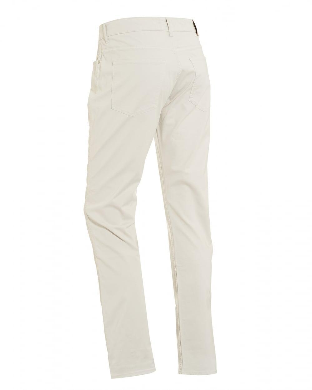 16c878606 Lyst - BOSS Delaware3 Jeans, Slim Fit Off White Denim in White for Men