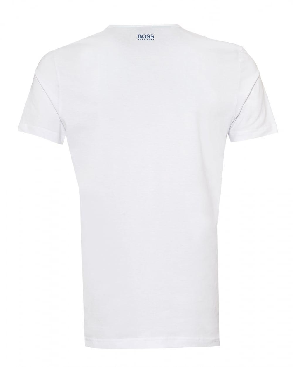 79ff8583 Lyst - BOSS Tee 2 T-shirt, 3d Logo Graphic White Tee in White for Men