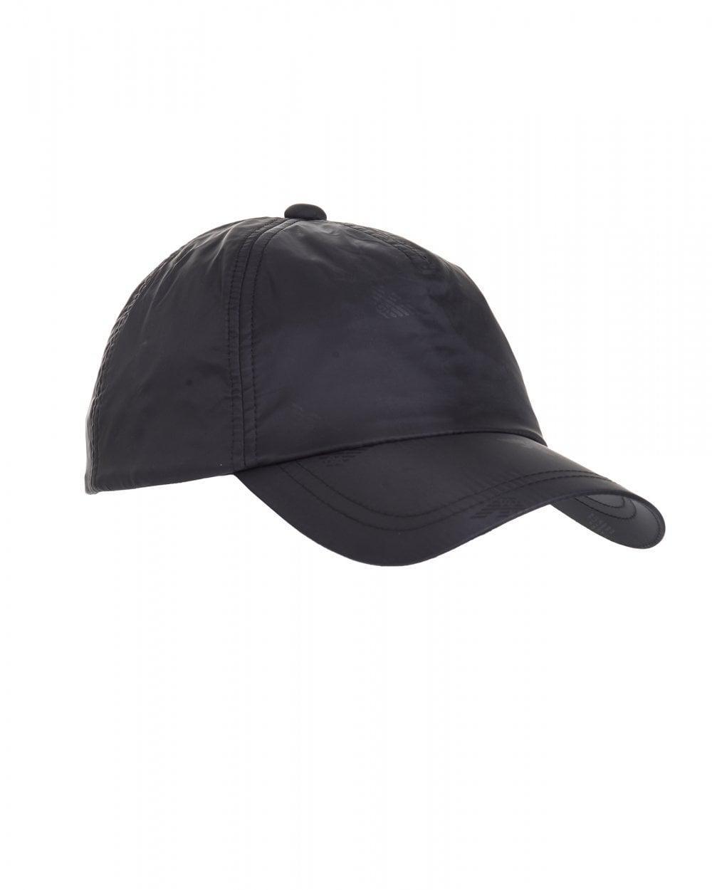 ceaeed99398 Emporio Armani. Men s All Over Logo Baseball Cap ...