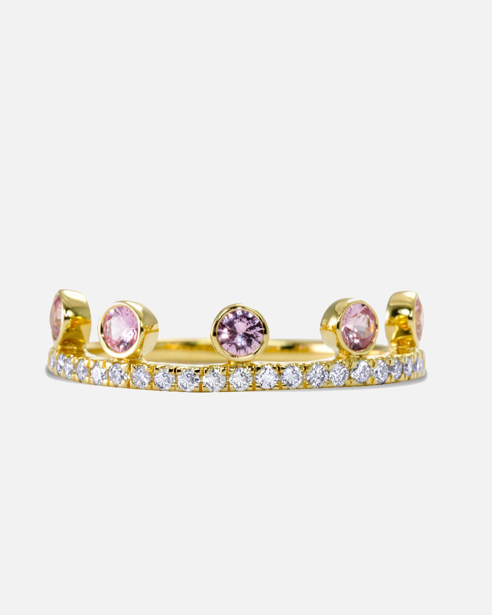 Khai Khai Tsavorite Crown ring - Metallic ASLY3icN