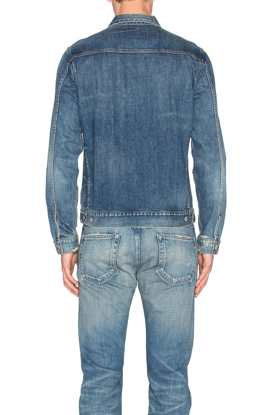 Citizens of Humanity Cotton Classic Jacket. Size M,s. in Blue for Men